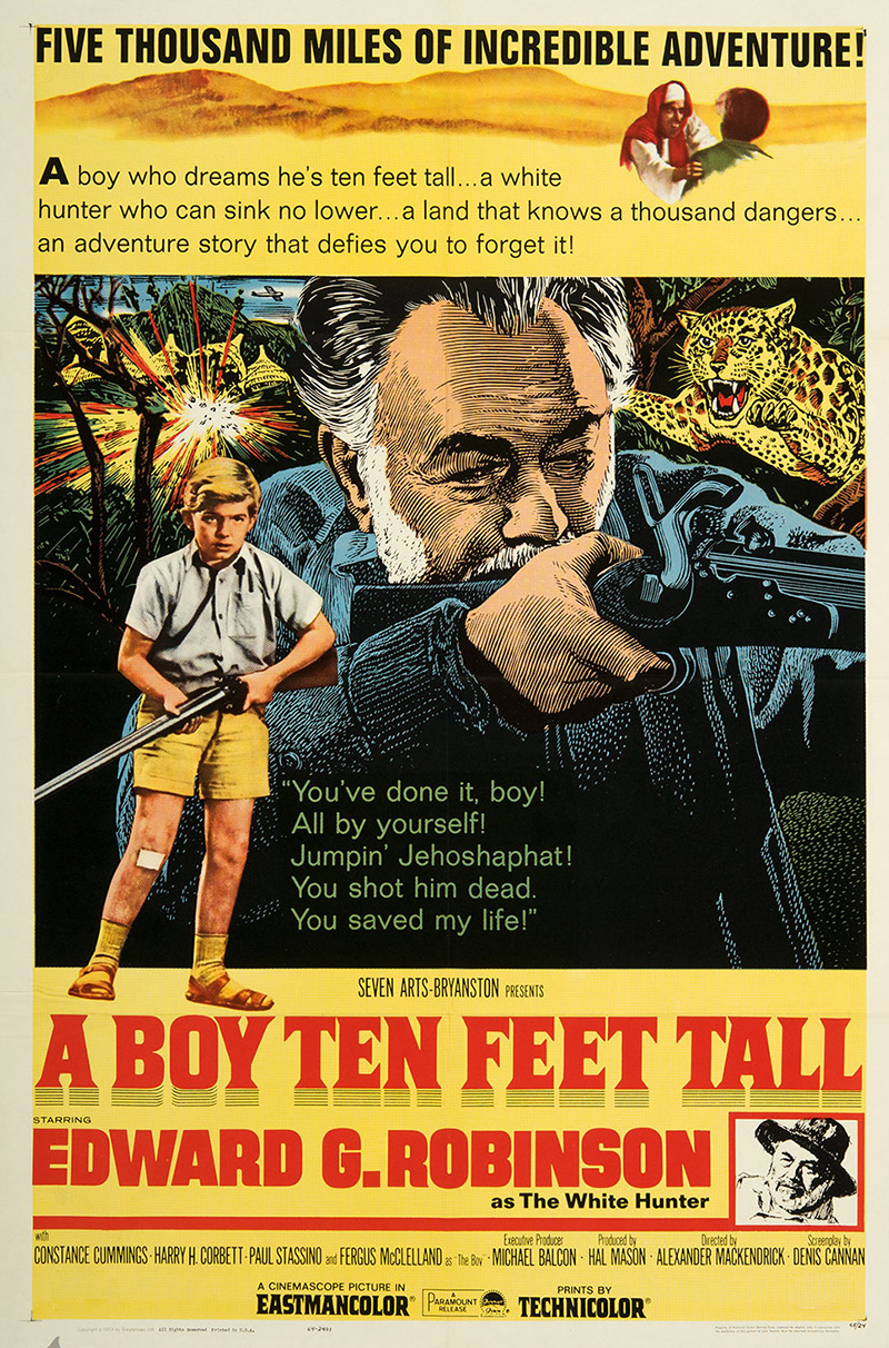 A Boy Ten Feet Tall SKU 2392