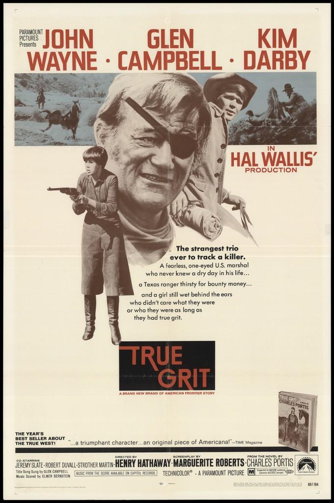 true grit 1969 original movie poster fff26699 fff