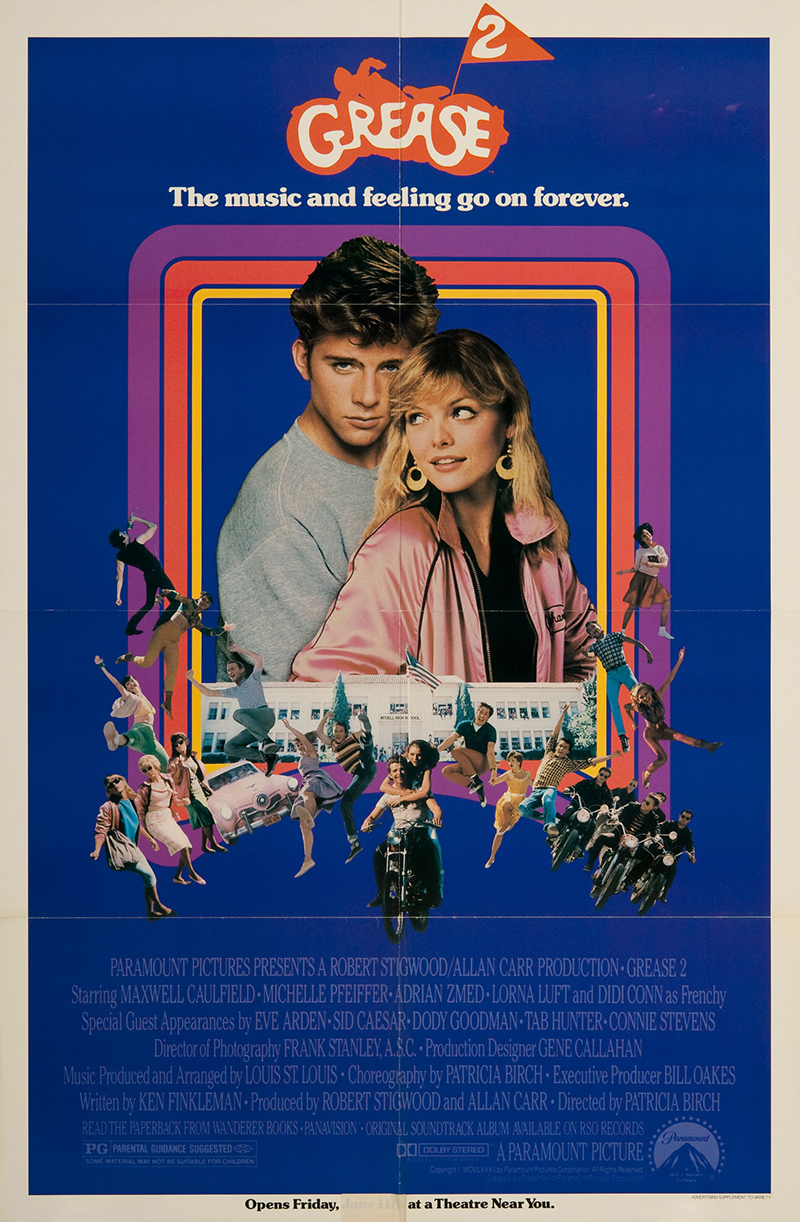 Grease 2 1982 Original Movie Poster #FFF-03398 - FFF Movie ...