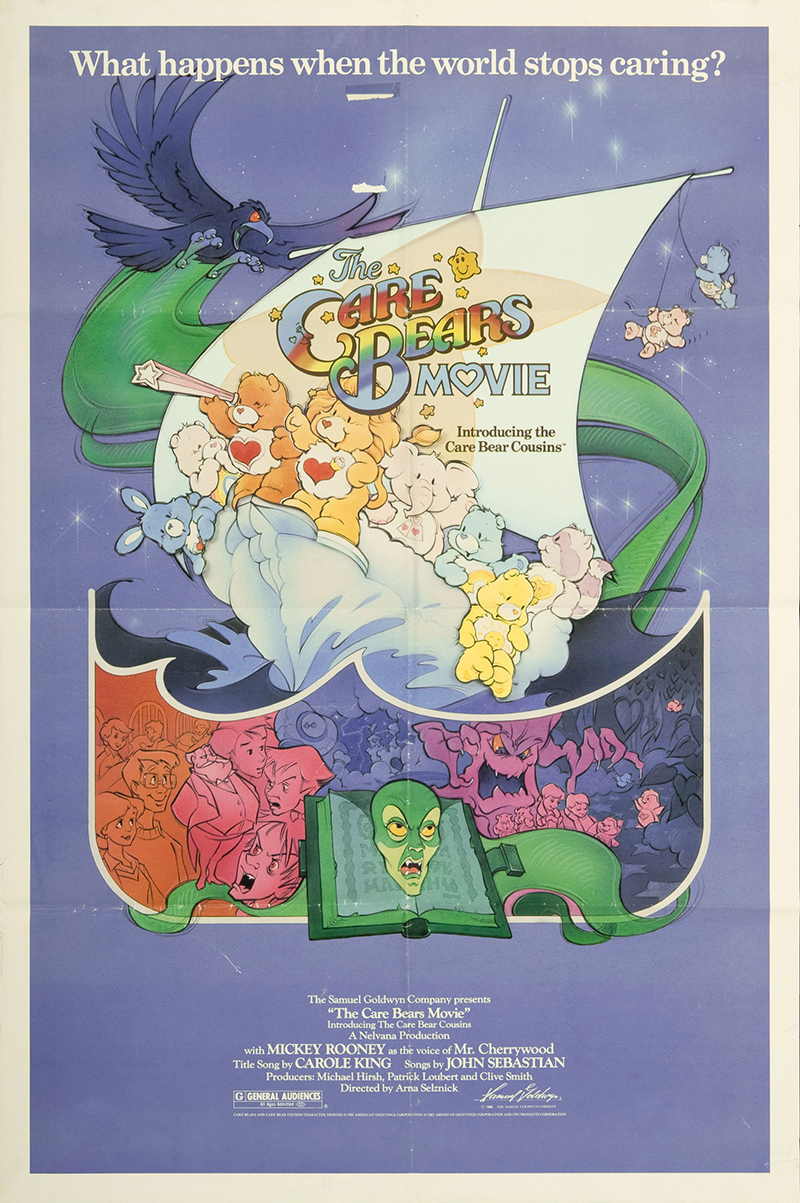 Care Bears Movie, The 1985 Original Movie Poster #FFF ...