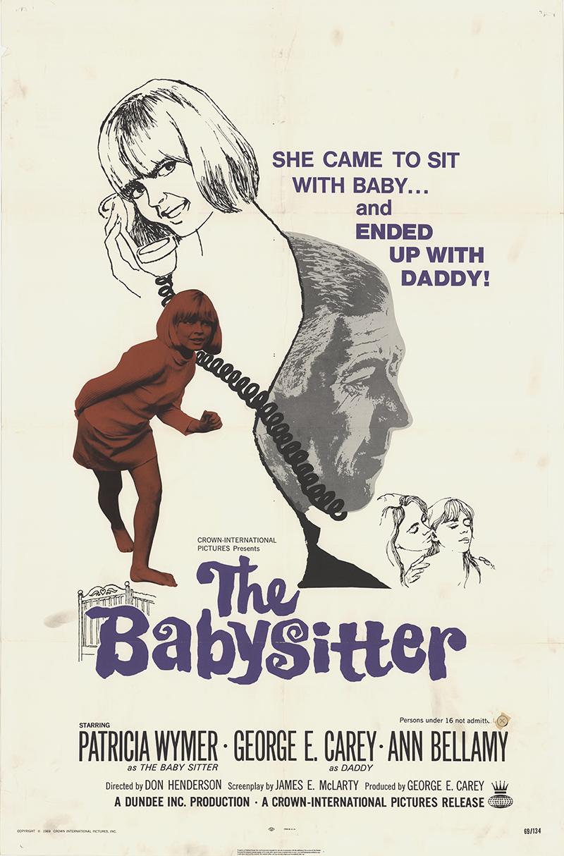babysitter the original movie poster fff fff movie babysitter the