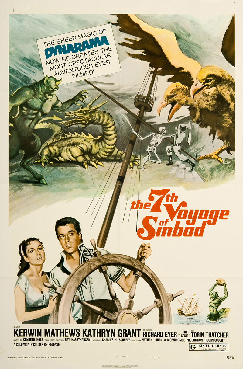 7th Voyage of Sinbad, The SKU 3753