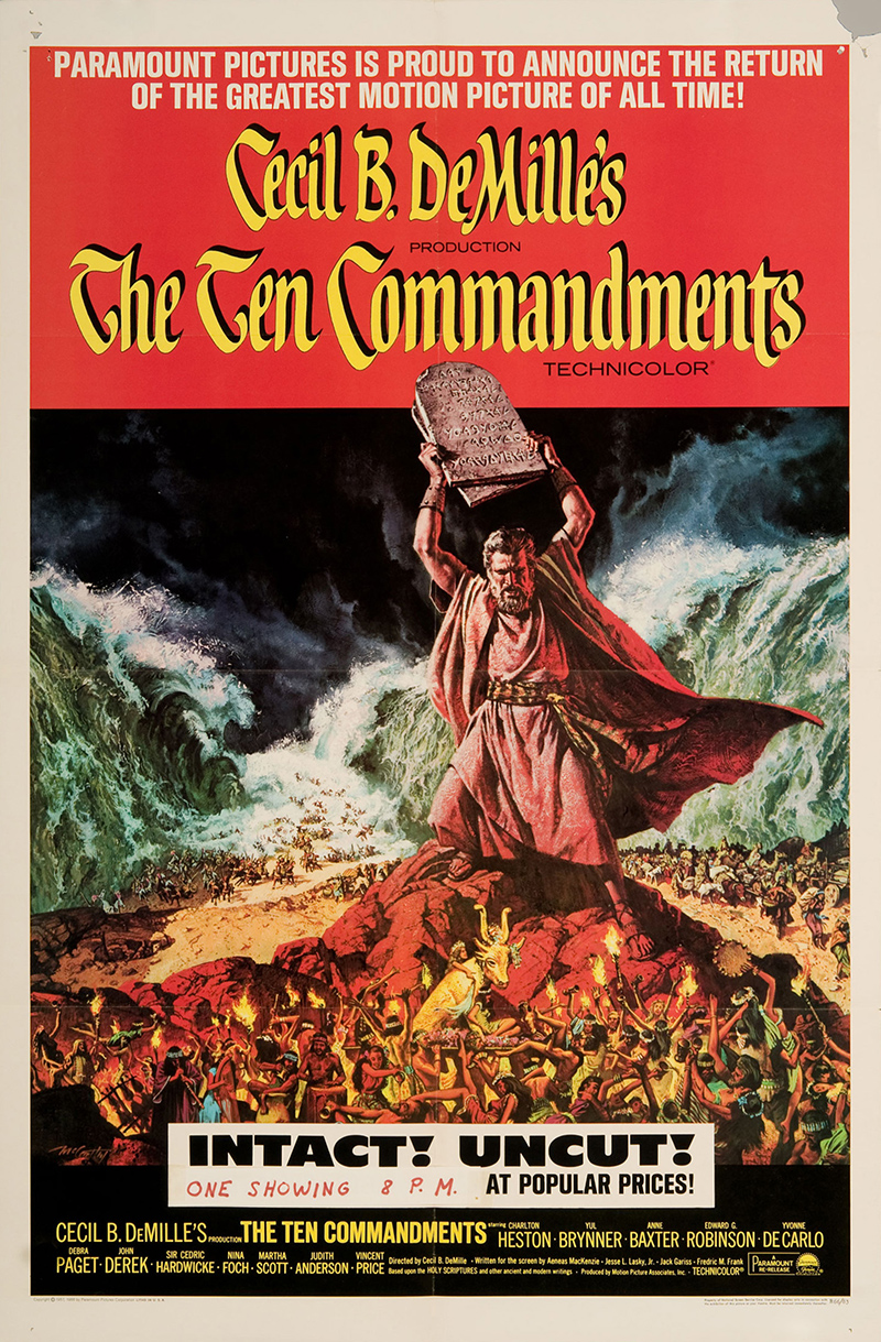The ten commandments movie essay