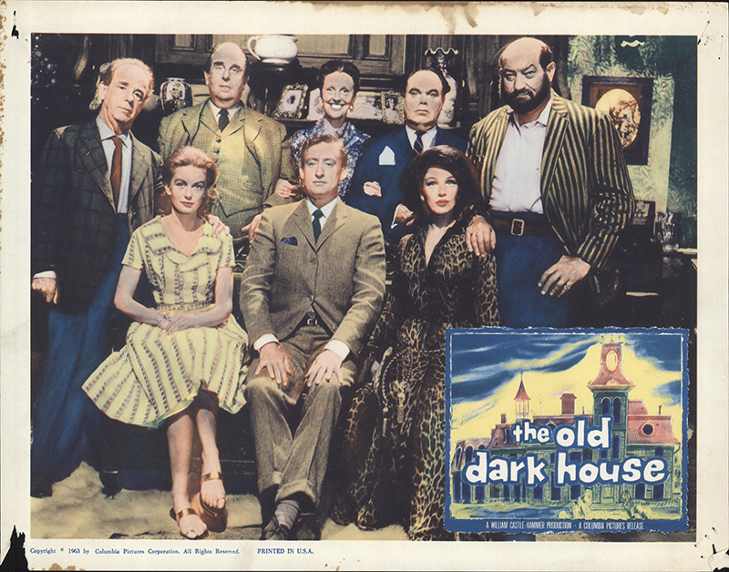 Old dark house the 1963 original lobby card fff 52345 for Classic house genre