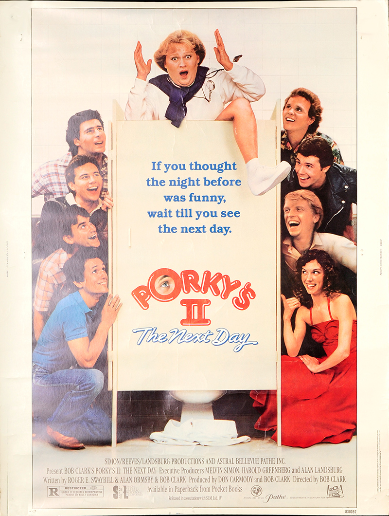 porkys ii the next day 1983 original movie poster fff