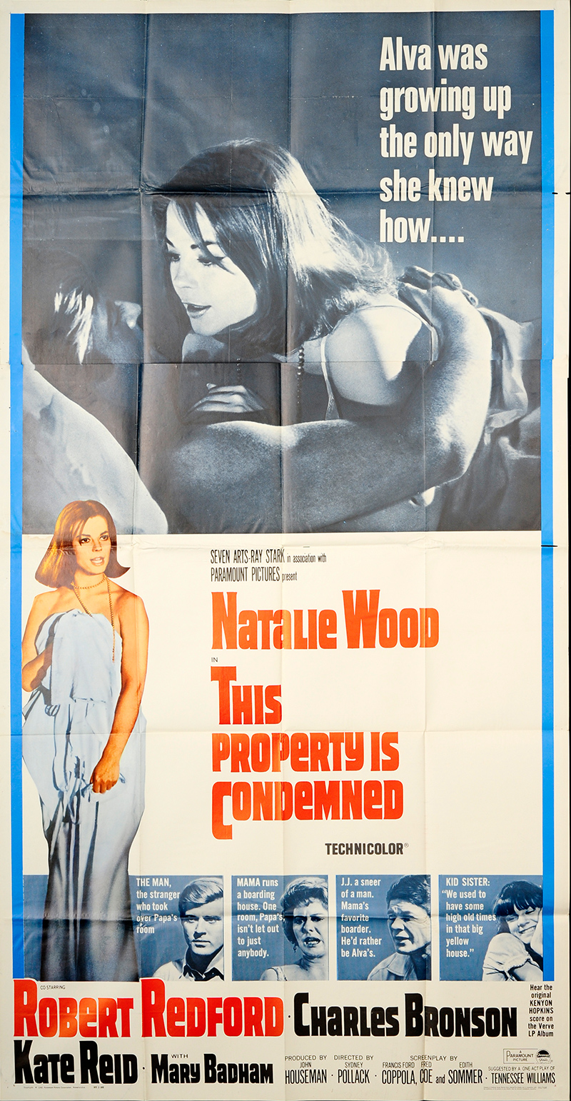 This Property is Condemned 1966 Original Movie Poster #FFF ...