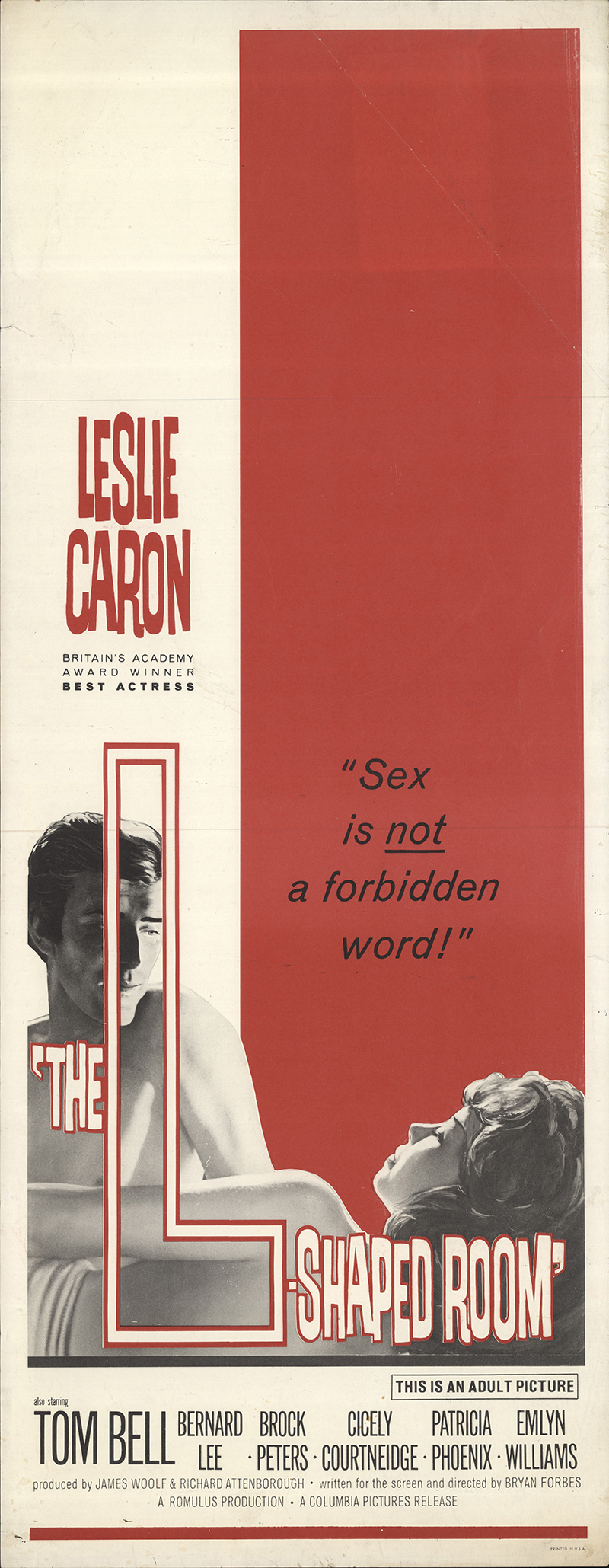 L-Shaped Room, The 1962 Original Movie Poster #FFF-55659 ... - photo#7