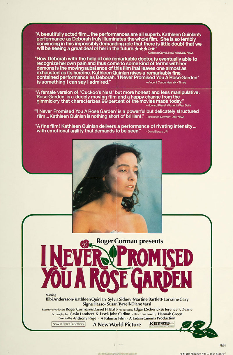 I Never Promised You A Rose Garden 1977 Original Movie Poster Fff 06382 Fff Movie Posters