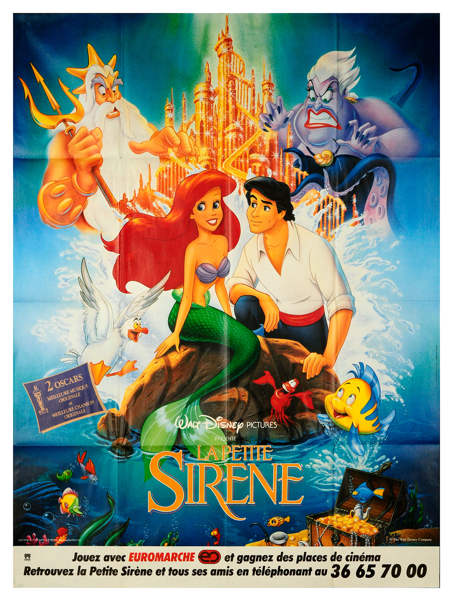 The little mermaid original movie poster