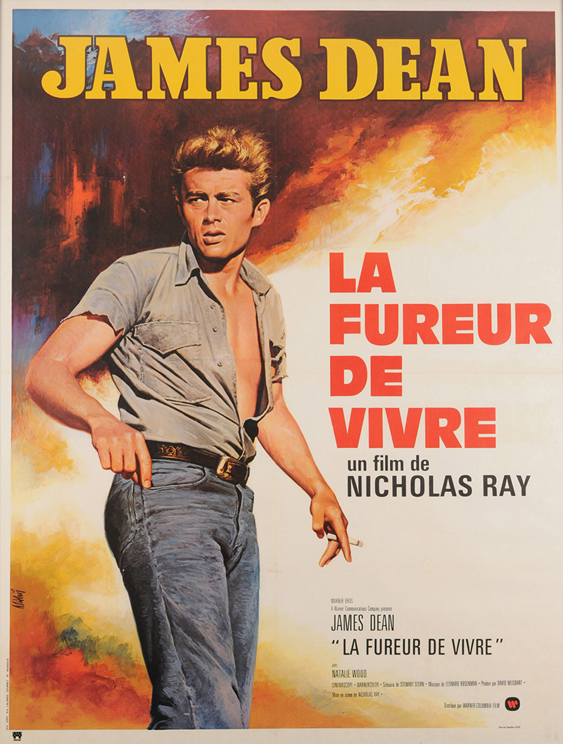 rebel without a cause 1970 original movie poster fff 00709 fff movie posters. Black Bedroom Furniture Sets. Home Design Ideas
