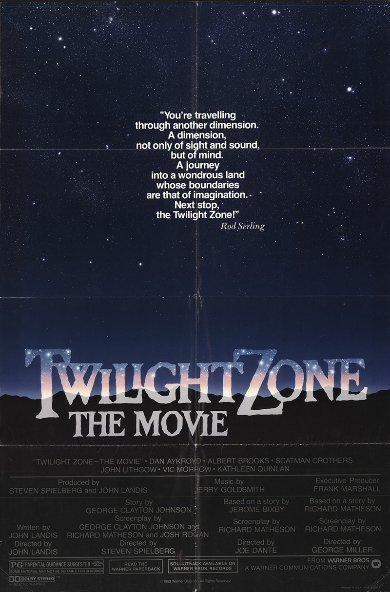 Twilight Zone: The Movie 1983 Original Vintage Movie Poster