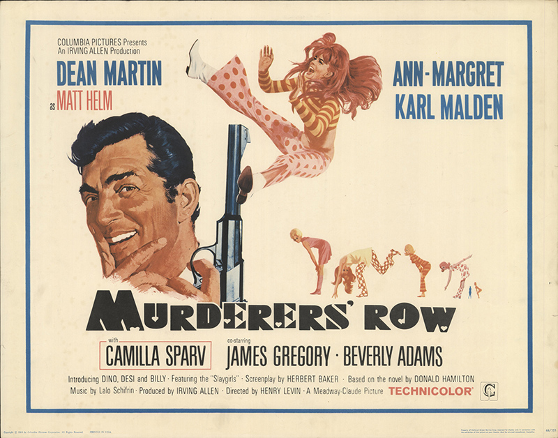 Murderers' row 1966 Original Movie Poster #FFF-09700 ...