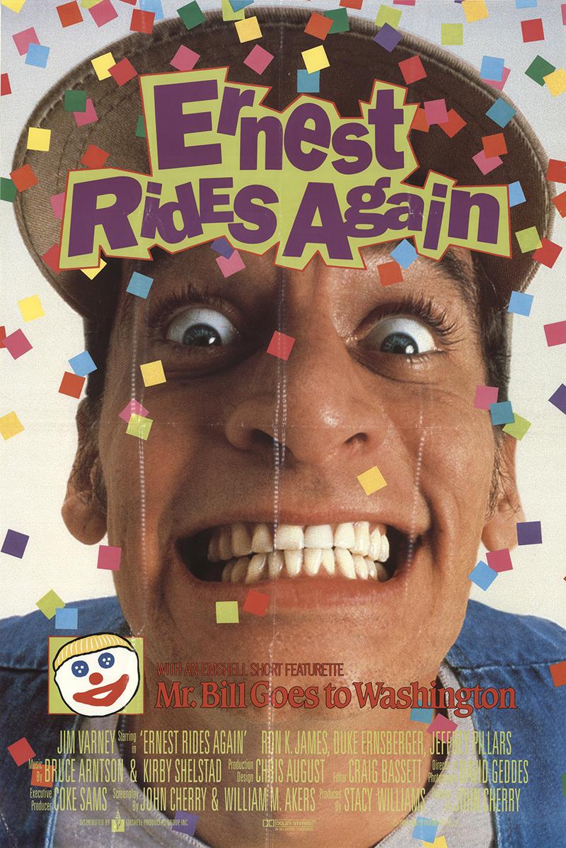 Ernest Saves Christmas 1988 Original Movie Poster #FFF-11533 ...
