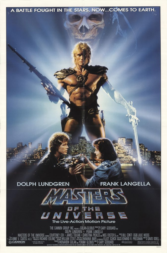 Masters Of The Universe 1987 Original Vintage Movie Poster