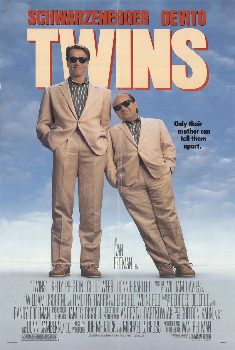 Twins 1988 Original Movie Poster #FFF-13818 - FFF Movie ...