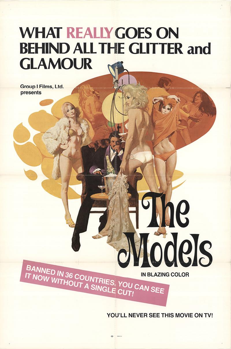 Paola Senatore in love with sex (aka the models) 1973 original movie poster u.s. one sheet fff-13891