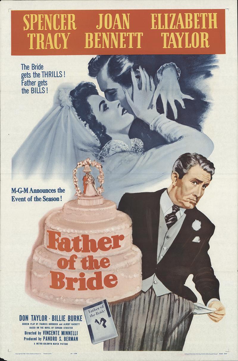 Father Of The Bride 1962 Original Movie Poster Fff 16334