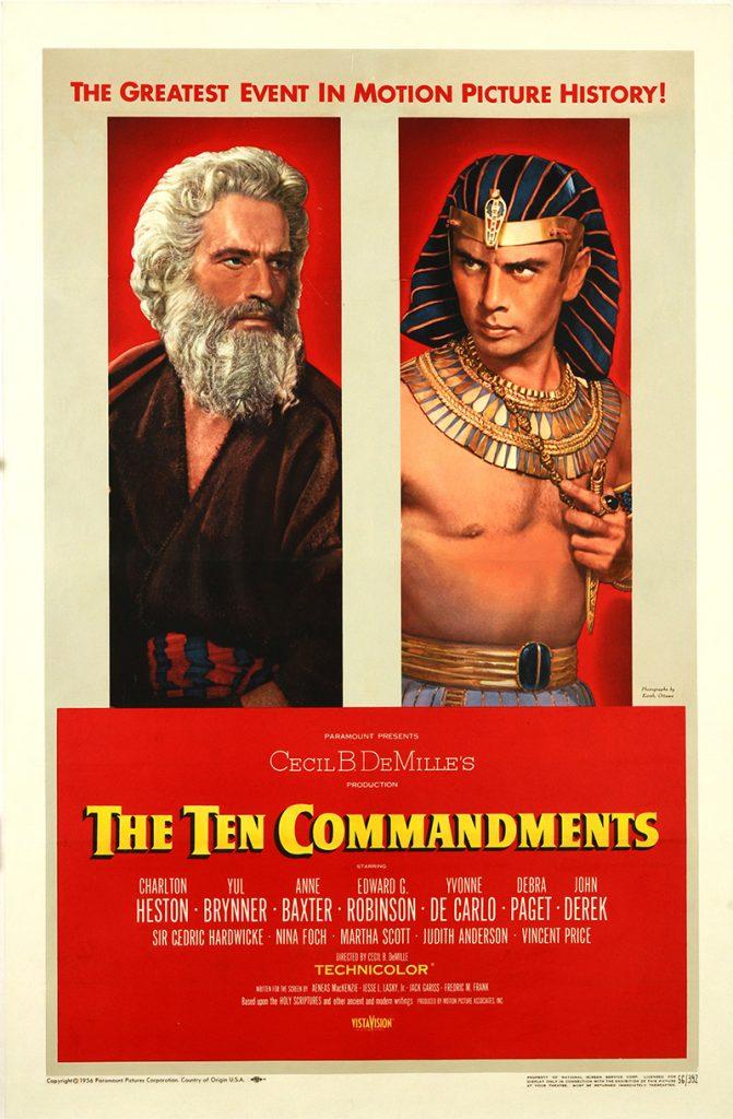 Ten Commandments, The SKU 1685