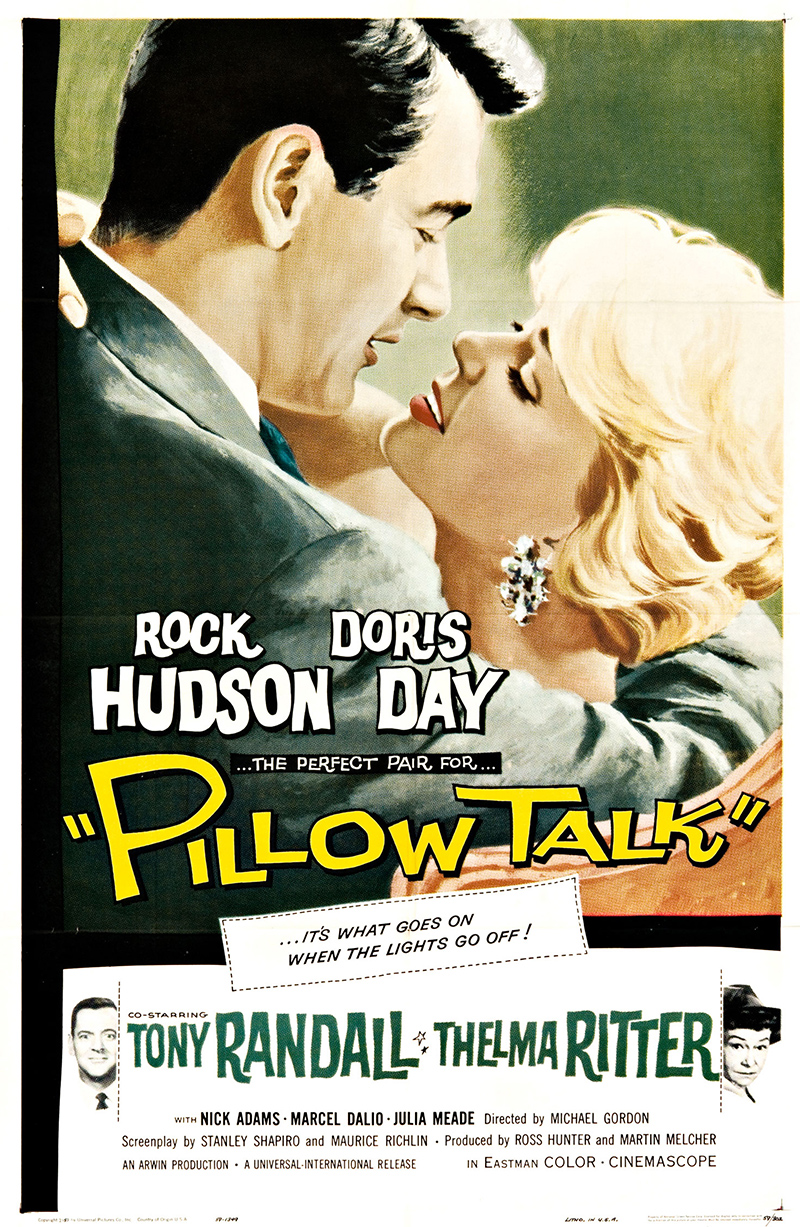 Pillow Talk Vintage Original Movie Poster