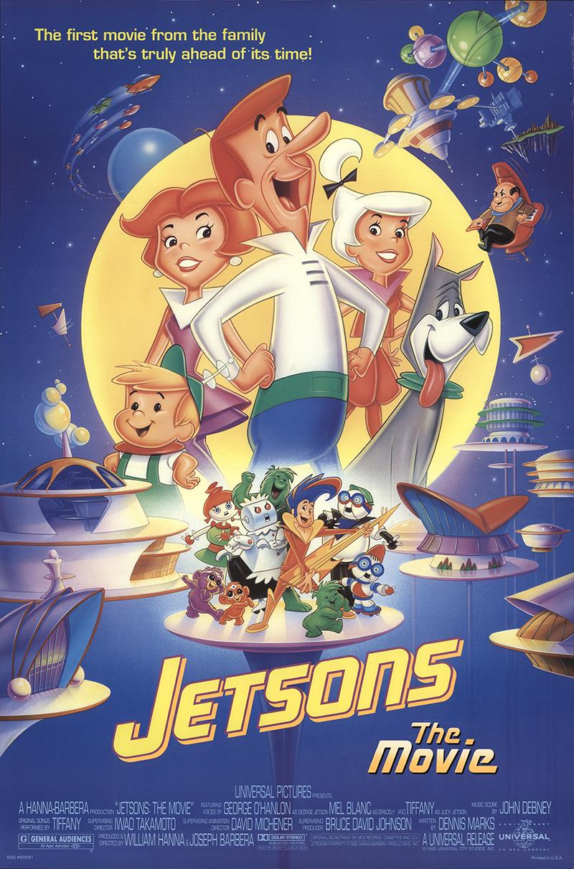 Jetsons: The Movie 1990 Vintage Original Movie Poster