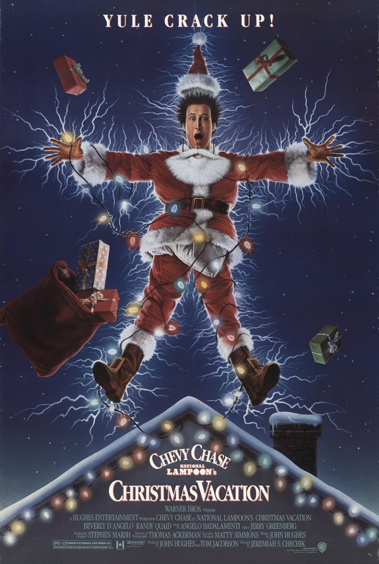 National Lampoon's Christmas Vacation Vintage Original Movie Poster - FFF-23776