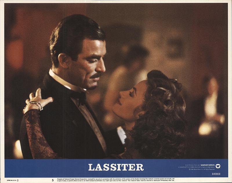 1 sheet 27x41 Movie Poster Lassiter 1984 Tom Selleck Jane Seymour Lauren Hutton