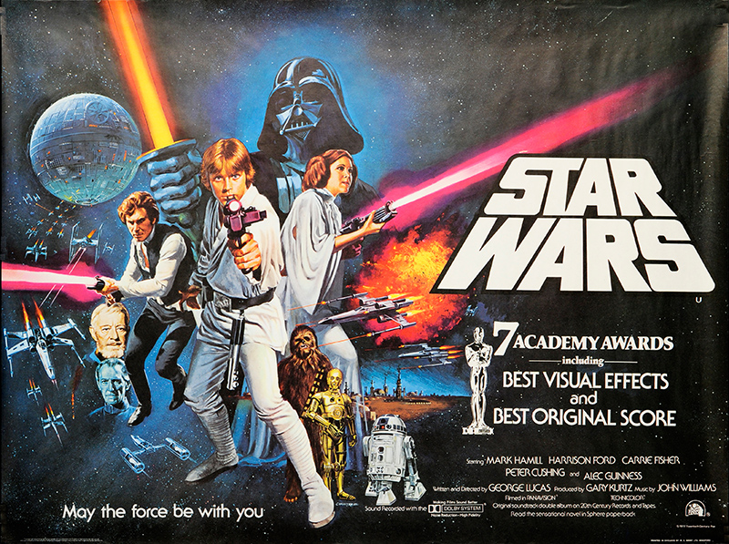 Star Wars Episode Iv A New Hope 1977 Original Movie Poster Fff 29307 Fffmovieposters Com