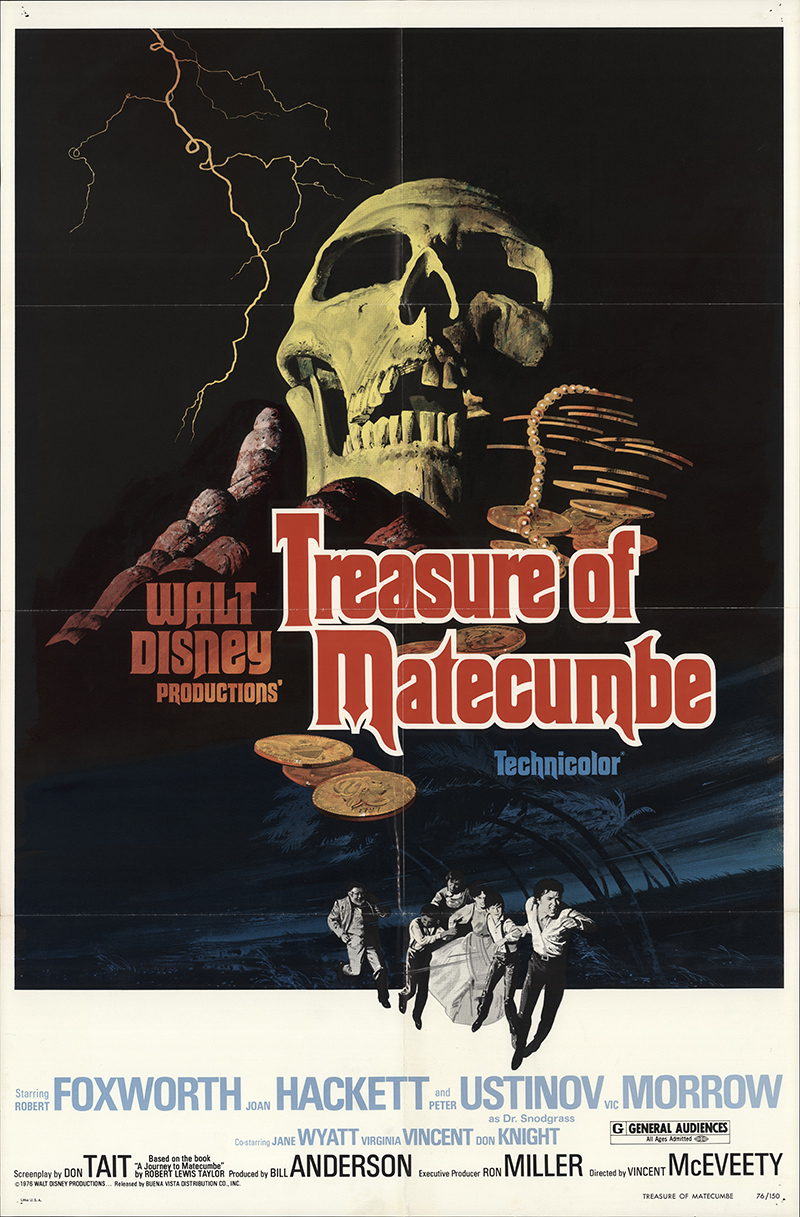 how to fold letter treasure of matecumbe 1976 original poster fff 29397