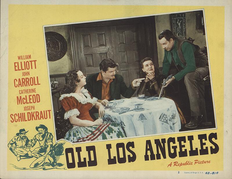 Old Los Angeles  Original Movie Poster FFF FFF Movie - Los angeles posters vintage