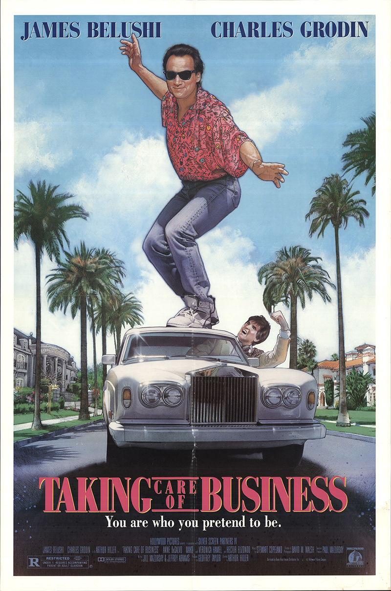 Taking Care Of Business By Killing Off >> Taking Care of Business 1990 Original Movie Poster #FFF-32110 | FFFMovieposters.com