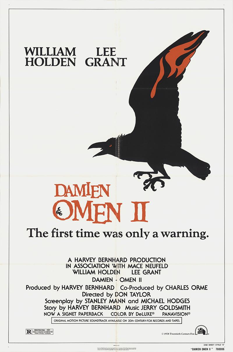 WILLIAM HOLDEN RICKY SCHRODER 1981 Original 27x41 Movie Poster EARTHLING