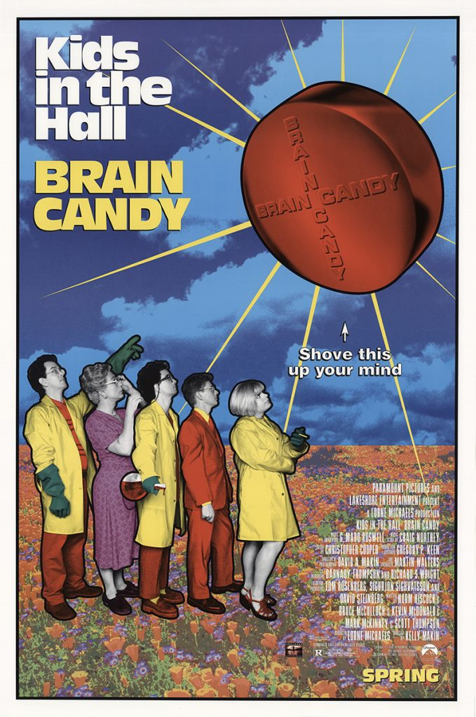Kids in the Hall: Brain Candy Vintage Original Movie Poster