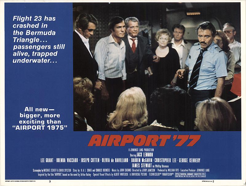 Airport '77 1977 Original Lobby Card U S  Lobby Card FFF-44633
