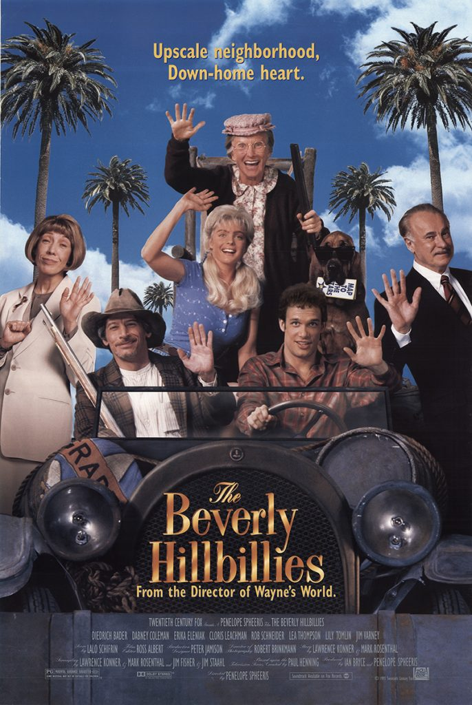 The Beverly Hillbillies 1993 Vintage Original Movie Poster