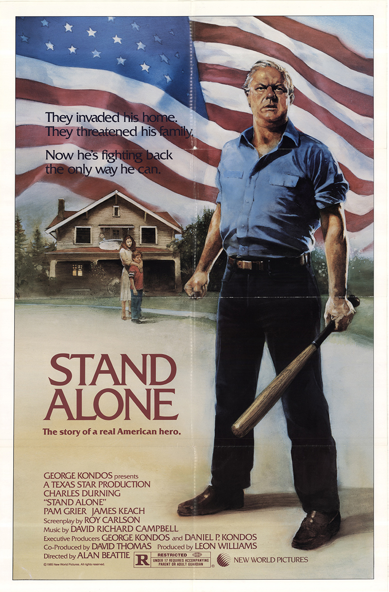 Stand alone 1985 original movie poster fff 46717 for Stand salon original