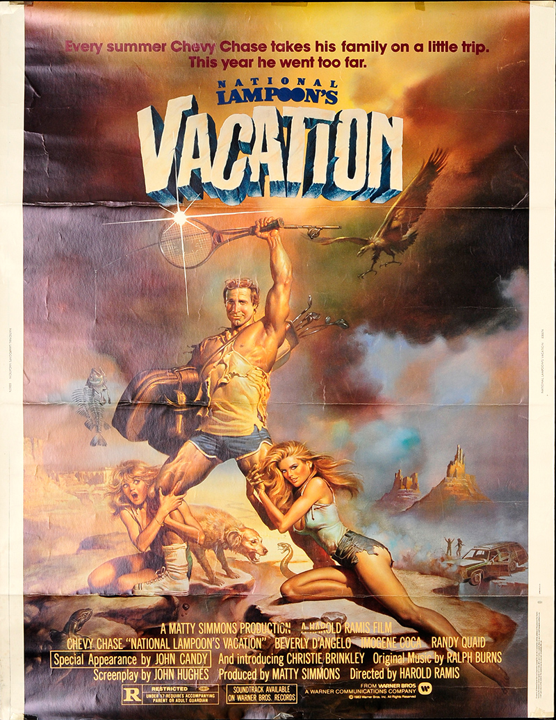 National Lampoon's Vacation 1983 Original Movie Poster