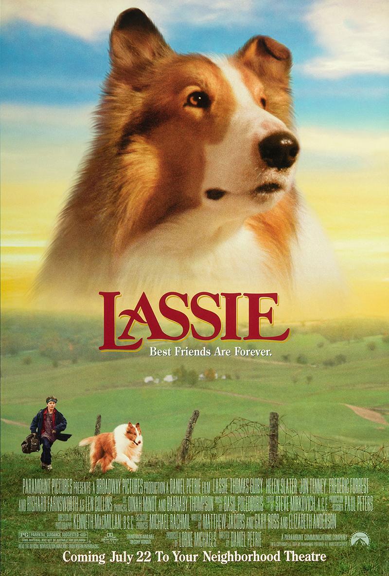 lassie 1994 original movie poster fff05257