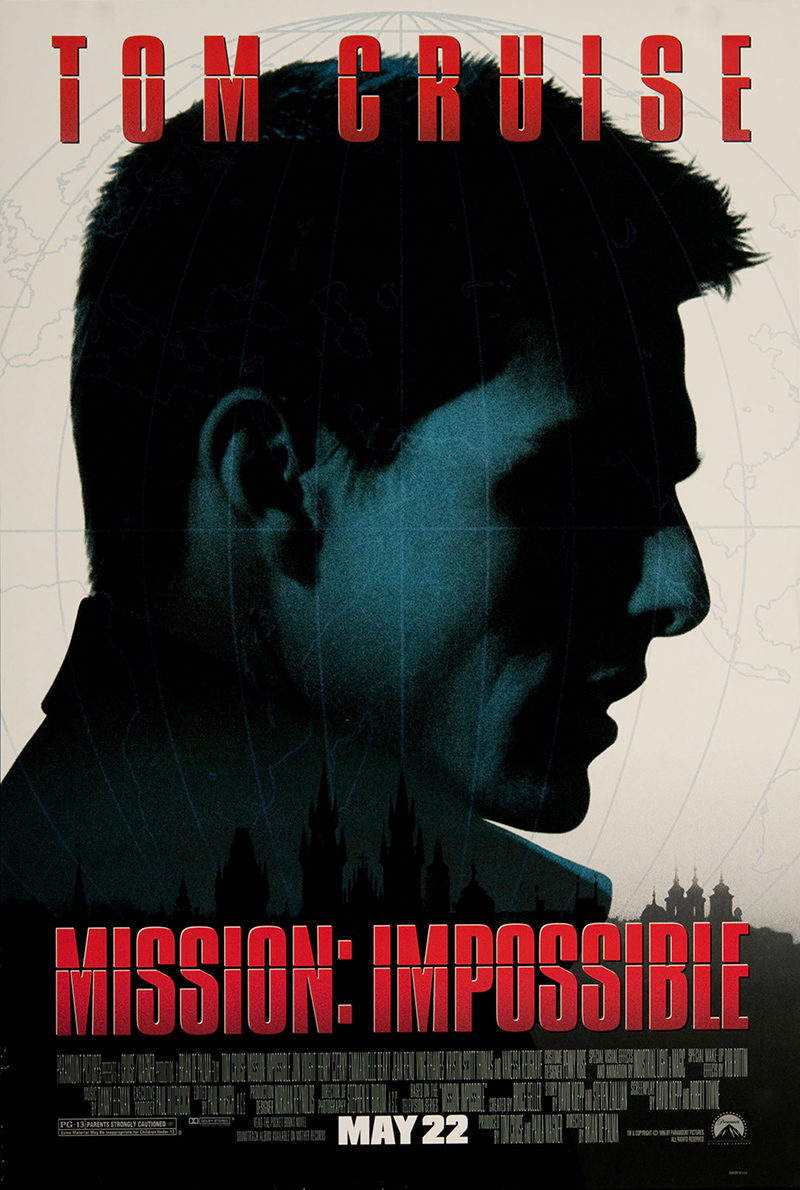 Mission: Impossible 1996 Original Vintage Movie Poster