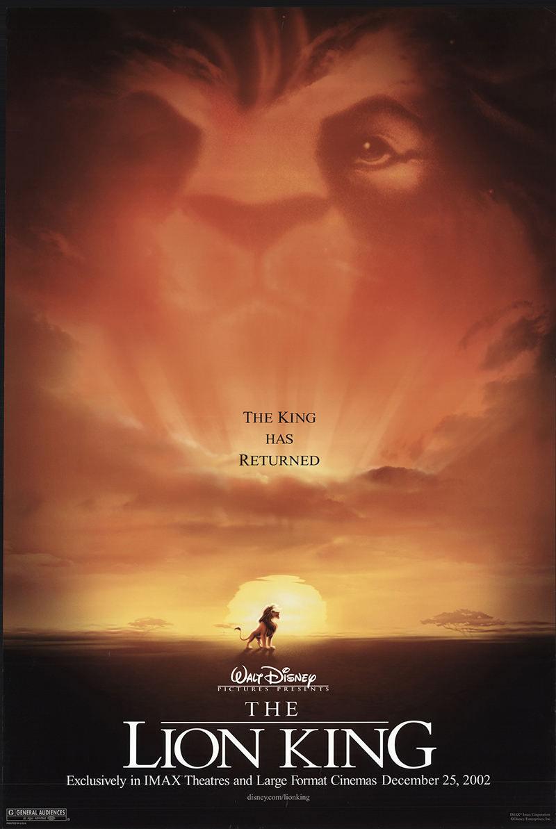 the lion king 2002 - Home For Christmas 2002