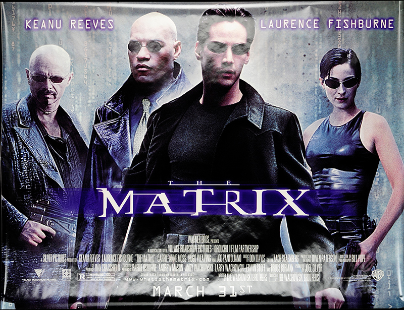 Movie Posters 1999: Matrix, The 1999 Original Movie Poster #FFF-53096