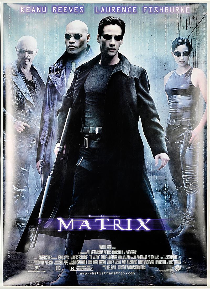 Matrix, The 1999 Original Movie Poster #FFF-53097 - FFF ...