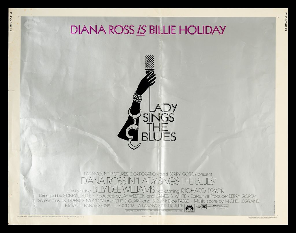 Lady Sings the Blues 1972 Original Movie Poster #FFF-55129 ...