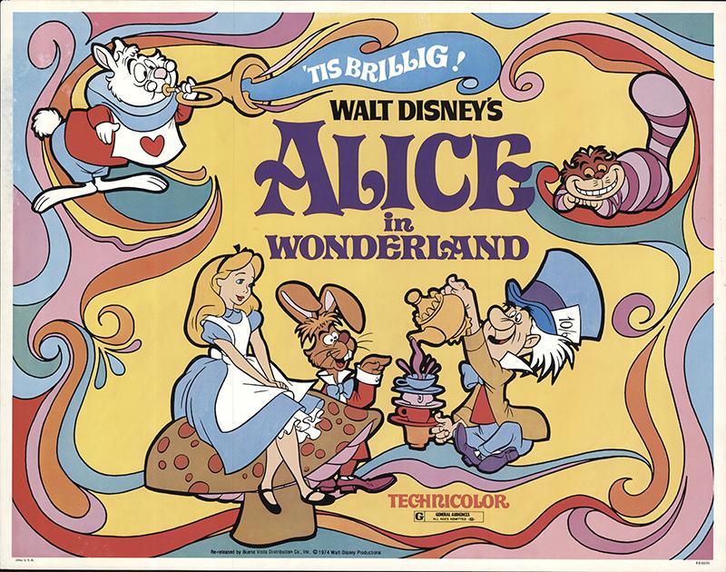 Alice in Wonderland 1974 Original Movie Poster #FFF-56302 ...