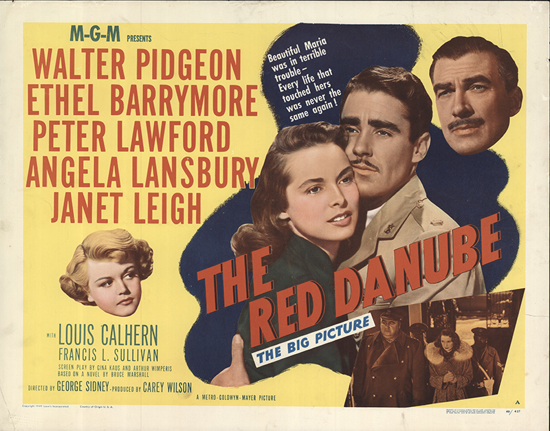 Red Danube, The 1949 Original Movie Poster #FFF-56394 ...