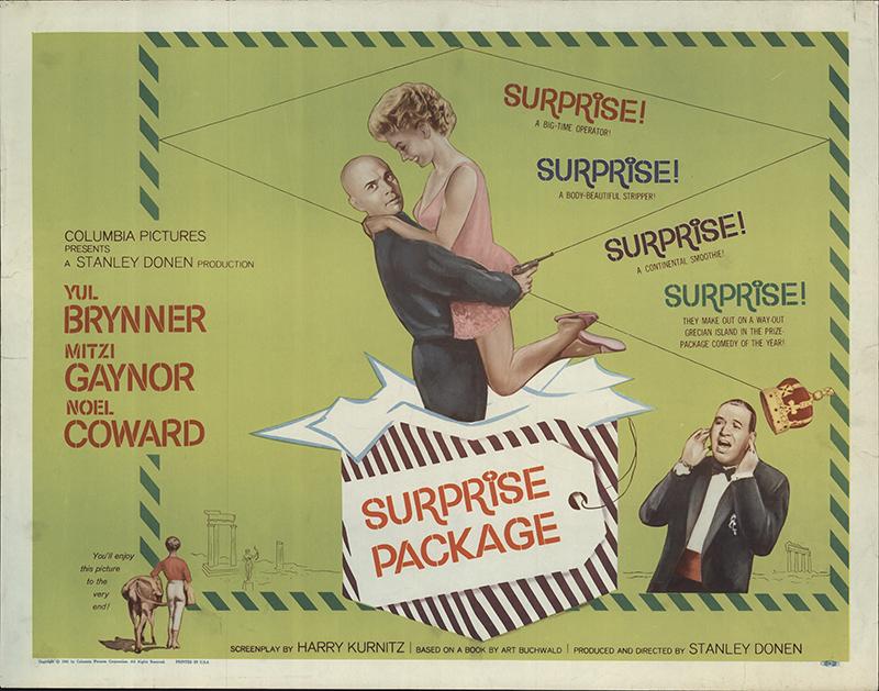 Surprise Package 1960 Original Movie Poster #FFF-56497 ...