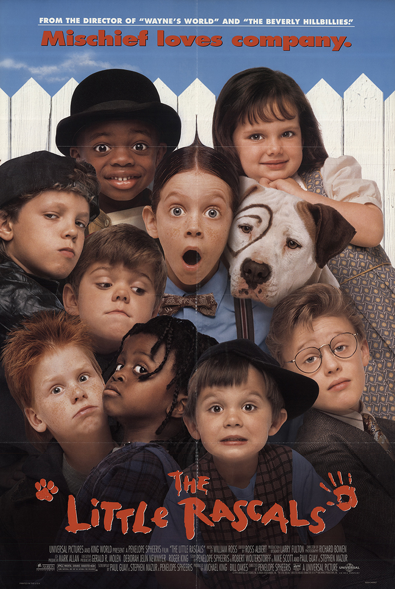 little rascals the 1994 original movie poster fff57682