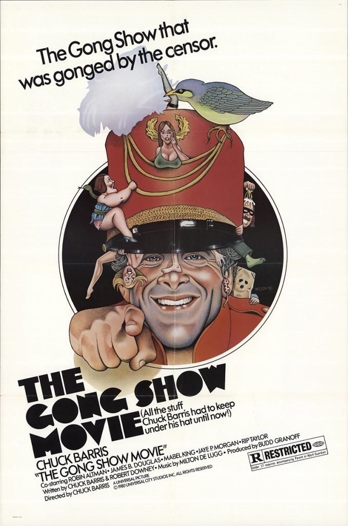 The Gong Show Movie 1980 Vintage Original Movie Poster