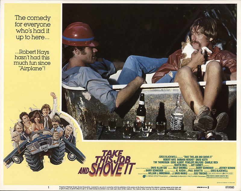Take This Job And Shove It 1981 Original Lobby Card Fff -4013