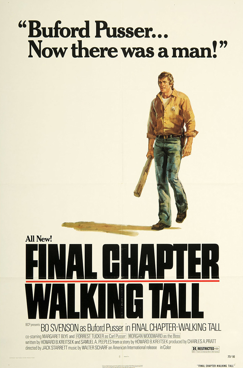Final Chapter - Walking Tall