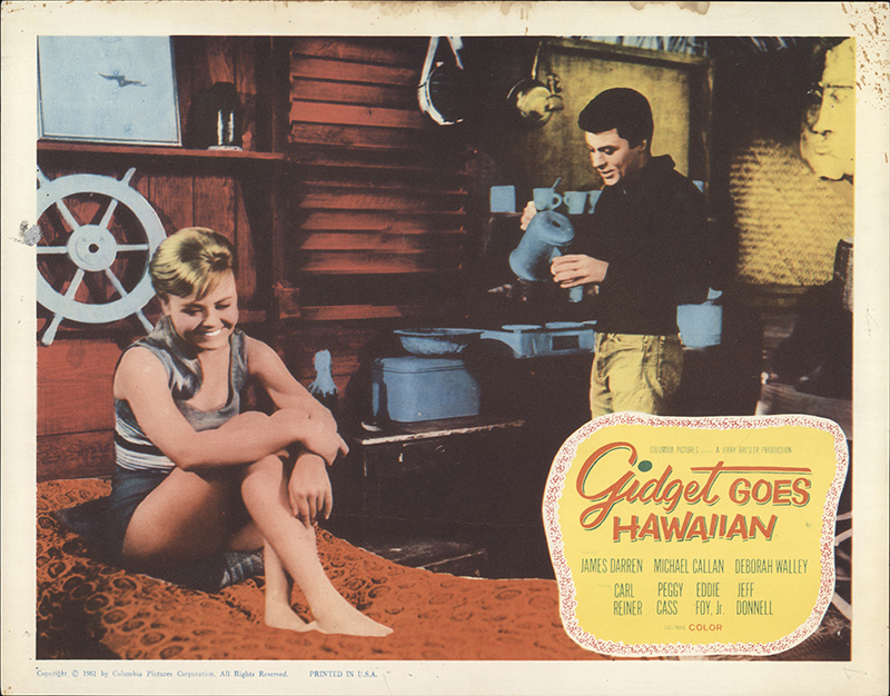 Gidget Goes Hawaiian 1961 Original Lobby Card #FFF-61117 ...